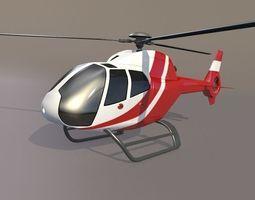 Eurocopter Colibri EC-120B civil helicopter 3D Model