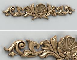 3D Carved decor horizontal 016