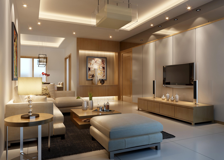 Exceptional Living Room 3d Model Max 1 Part 9