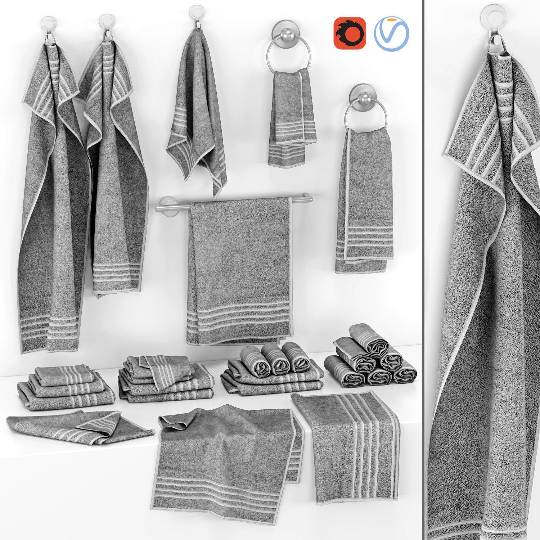 Gray Towels Set