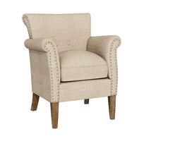 3D furnishing Modern Armchair
