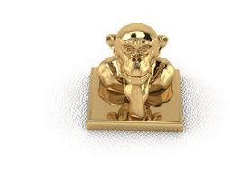 monkey 1 3d printable model