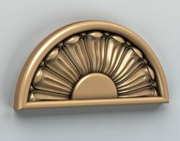 3D model Round rosette 003