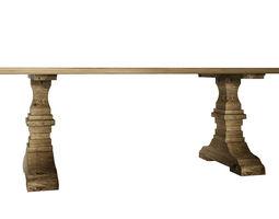modern table tabletop desk 3D