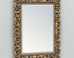3D Rectangle mirror frame