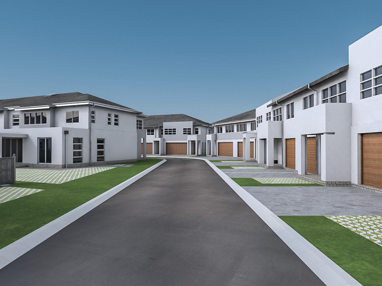 Neighborhood Houses 02 3D model | CGTrader