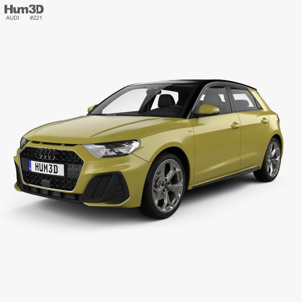 Audi A1 Sportback S-line with HQ interior 2018