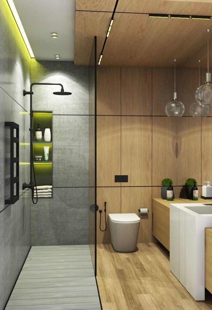 Bathroom free 3D model MAX OBJ FBX MAT
