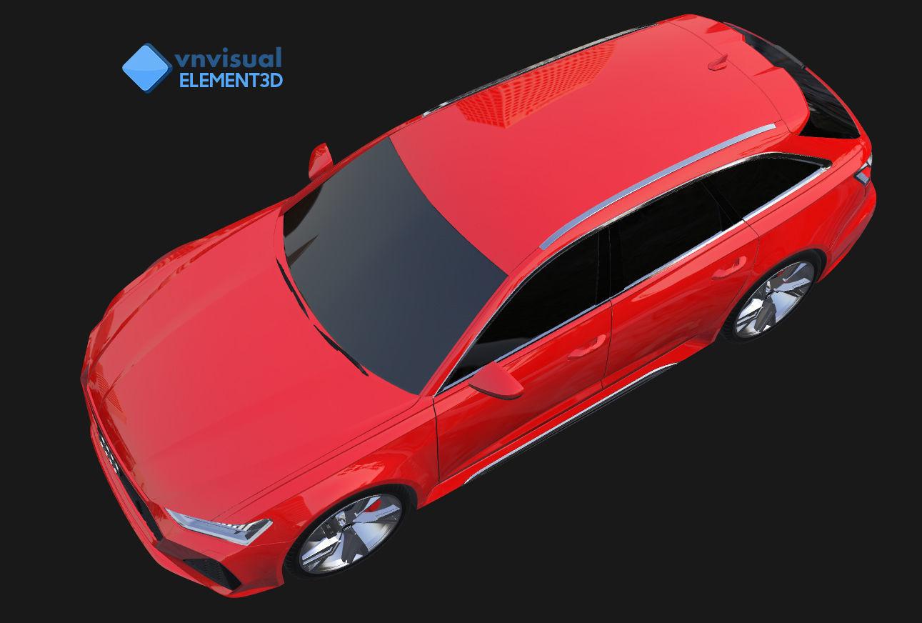 E3D - Audi RS6 Avant 2020