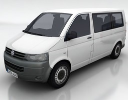 VW Transporter 5a 3D asset