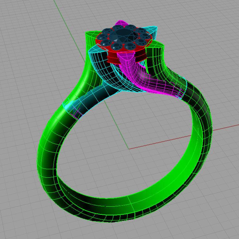Classic Solitaire Engagement ring  Anello solitario Sl32