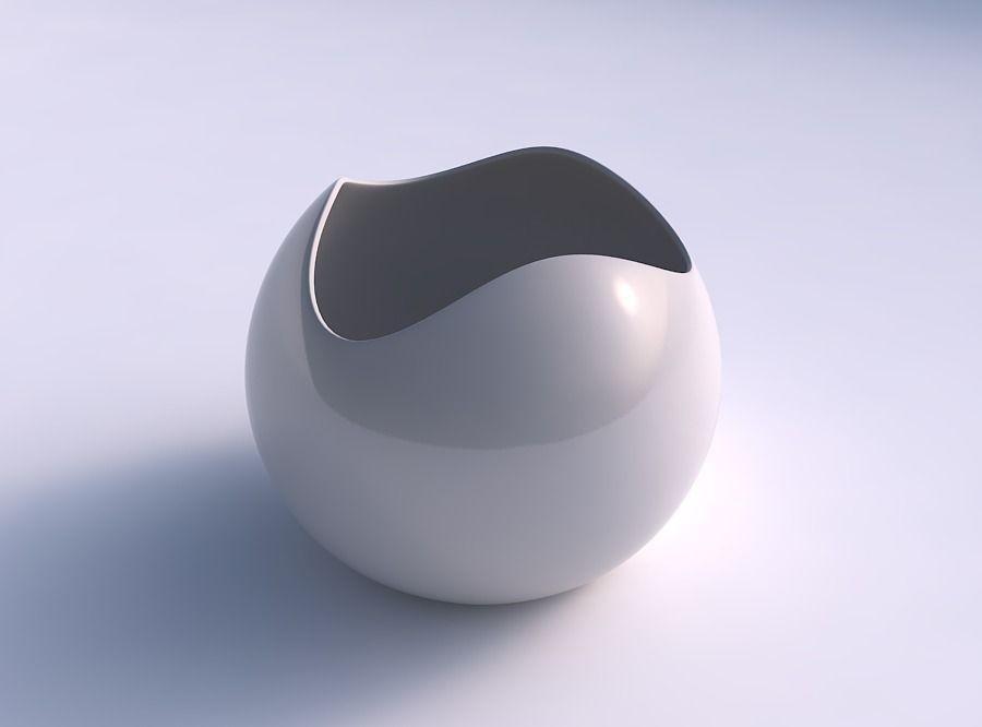 Bowl Spheric wavy smooth