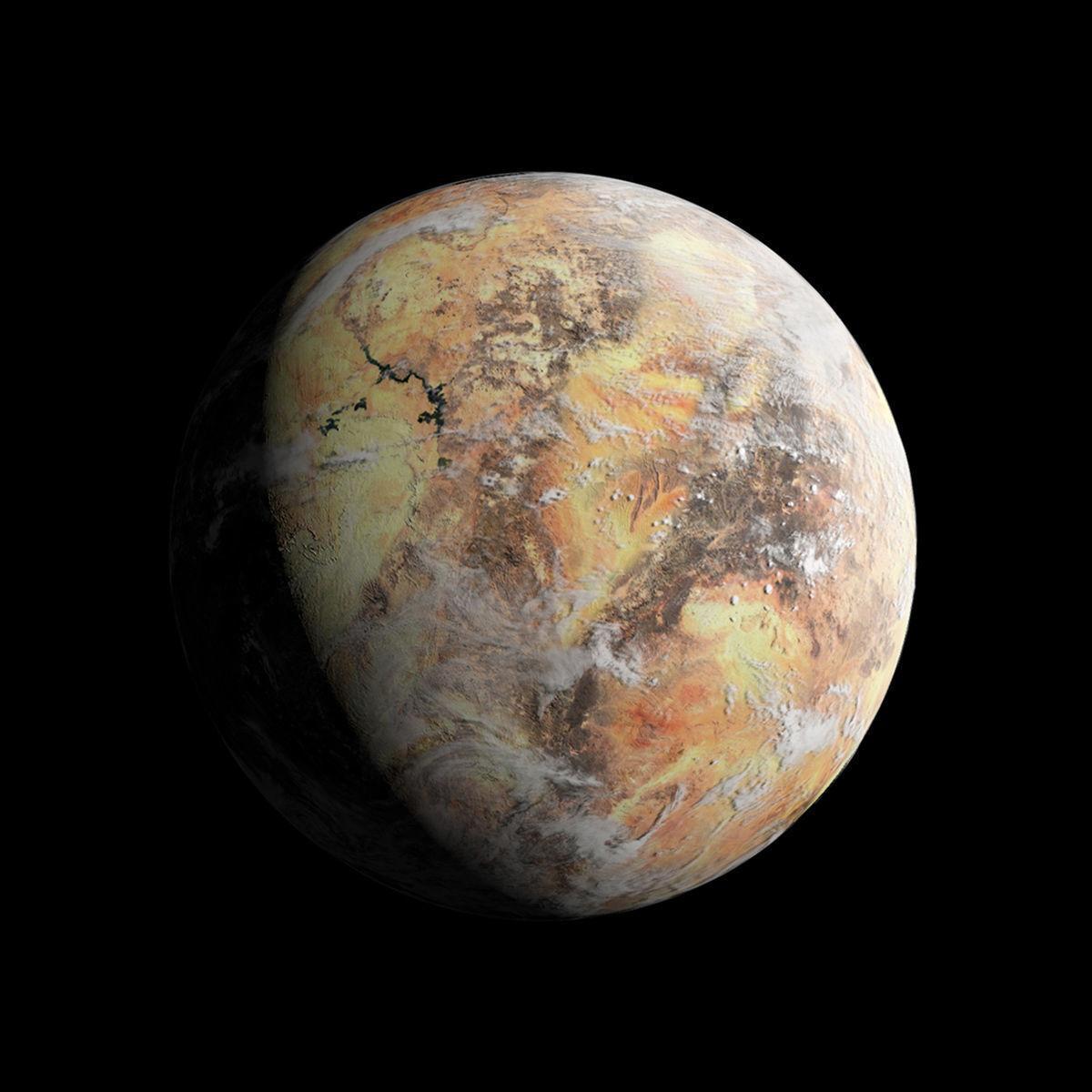 Desert Planet - Dune - Tatooine - Alien Planet 8k