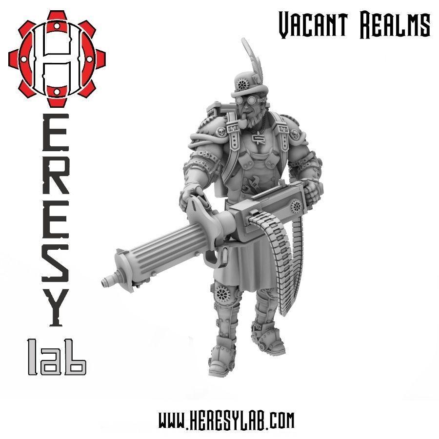 Heresylab - Steam Punk Gunner