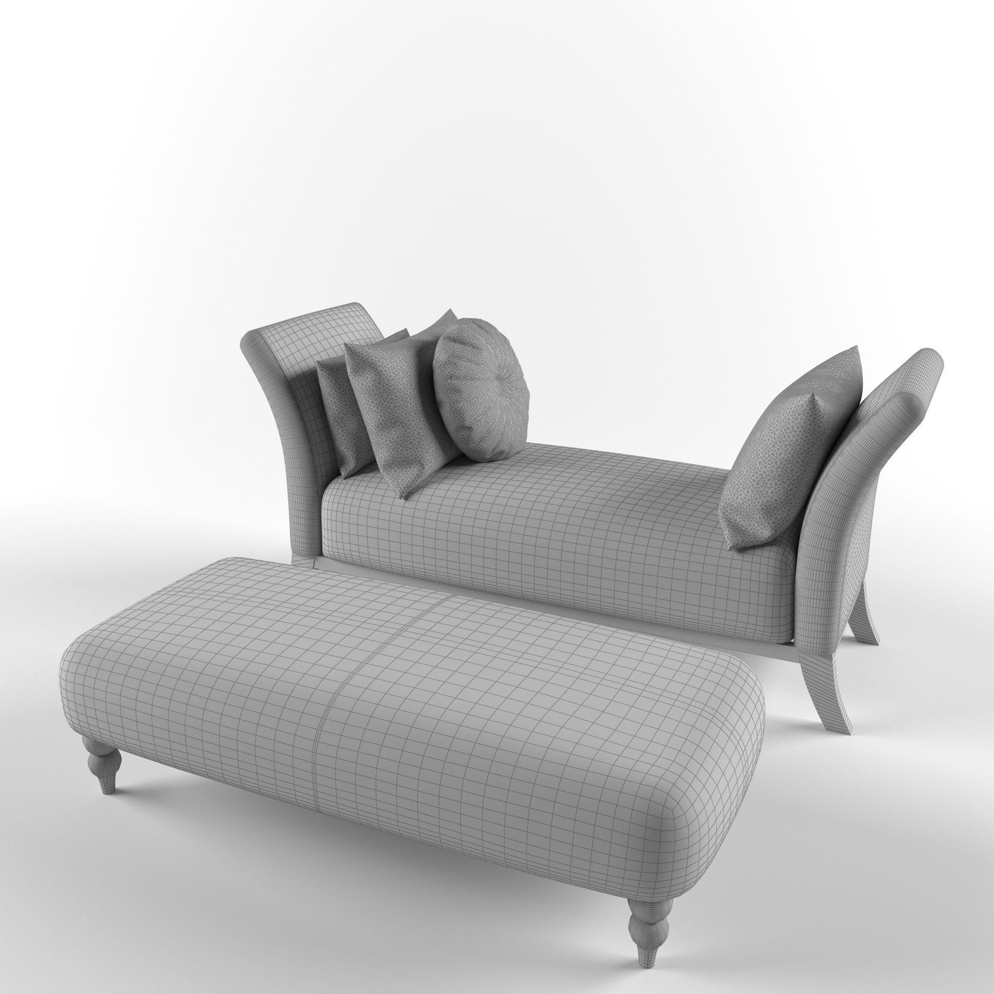 Superieur ... Classic Sofa Banquette 3d Model Max Fbx Unitypackage Prefab 2 ...
