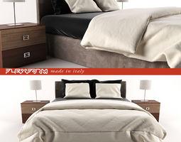 Bed modern 3D model