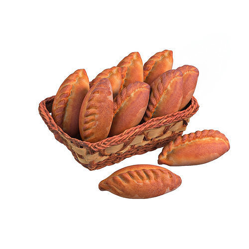 a basket of pastries