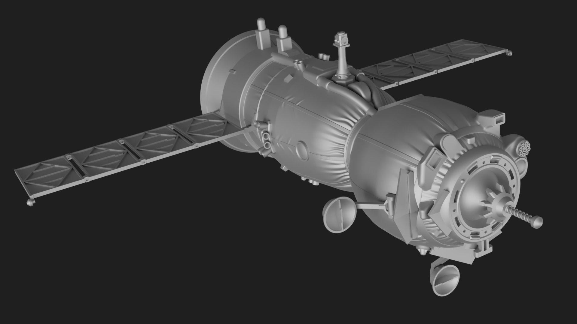 Soyuz MS Spacecraft