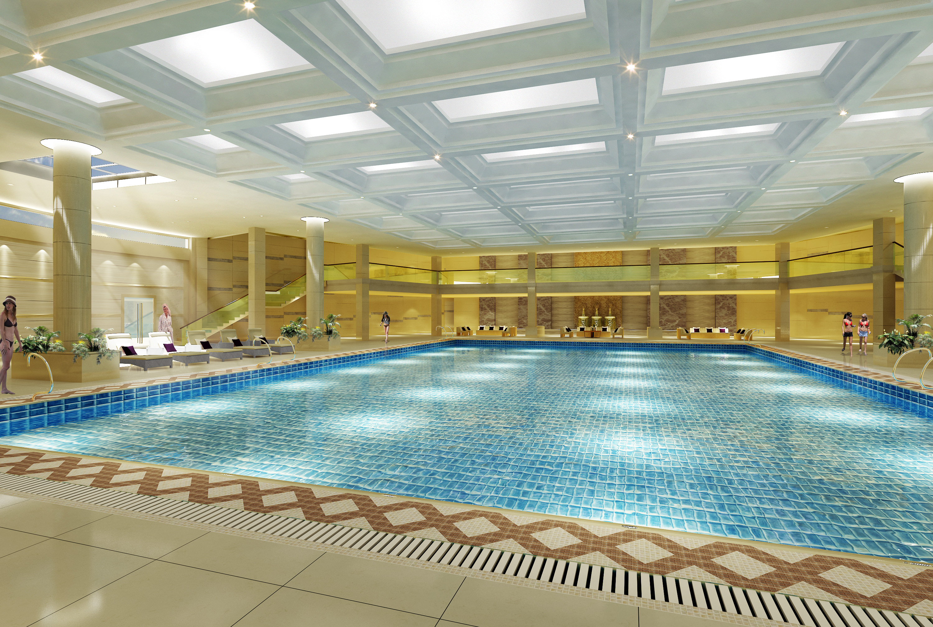 Swimming pool 3d model max for Swimming pool stores in my area
