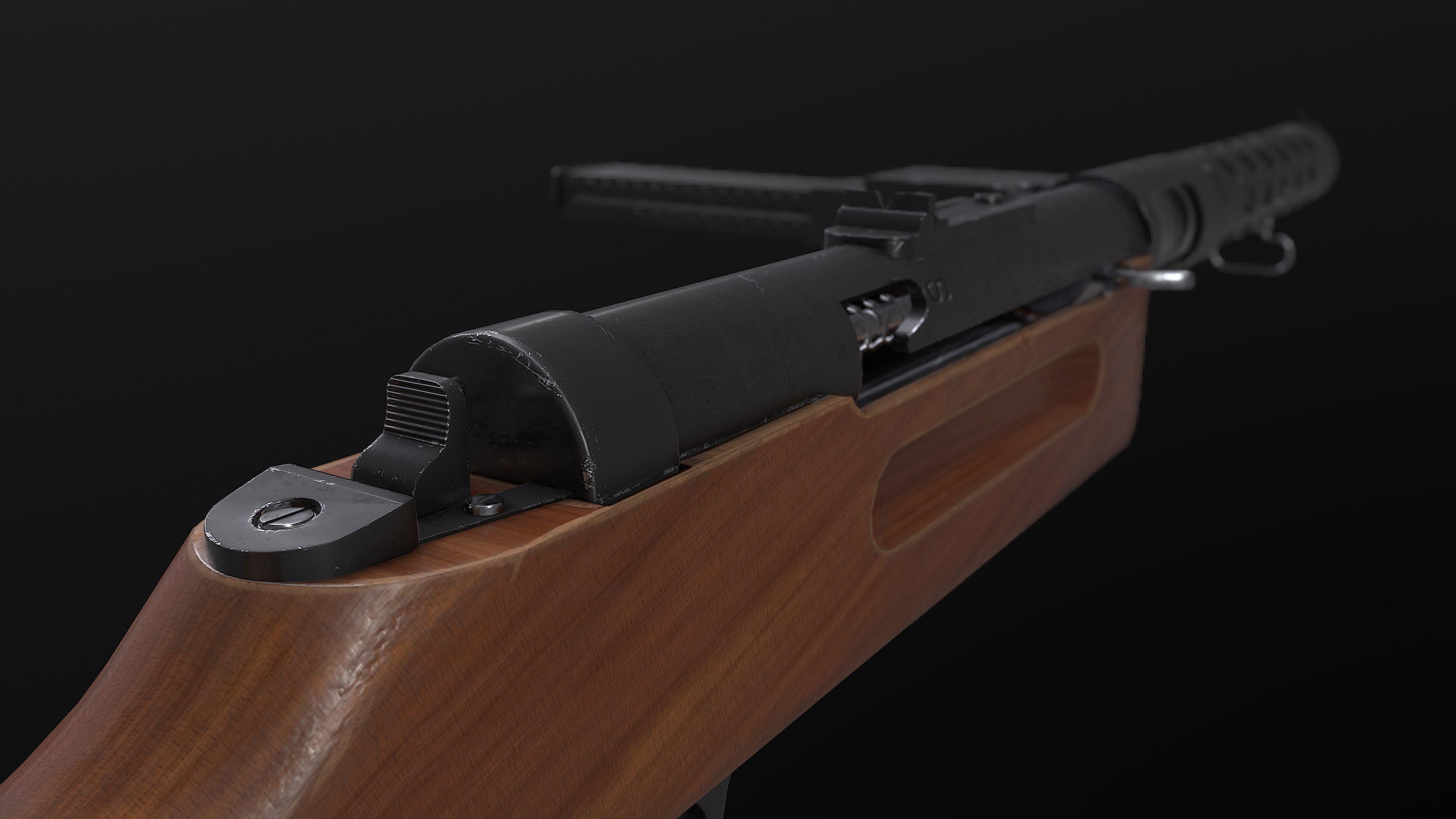 MP18 Submachine Gun