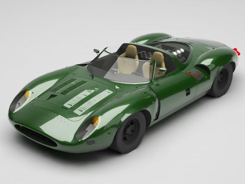 jaguar xj13 3D model   CGTrader