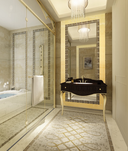 bathroom 3d model max 1
