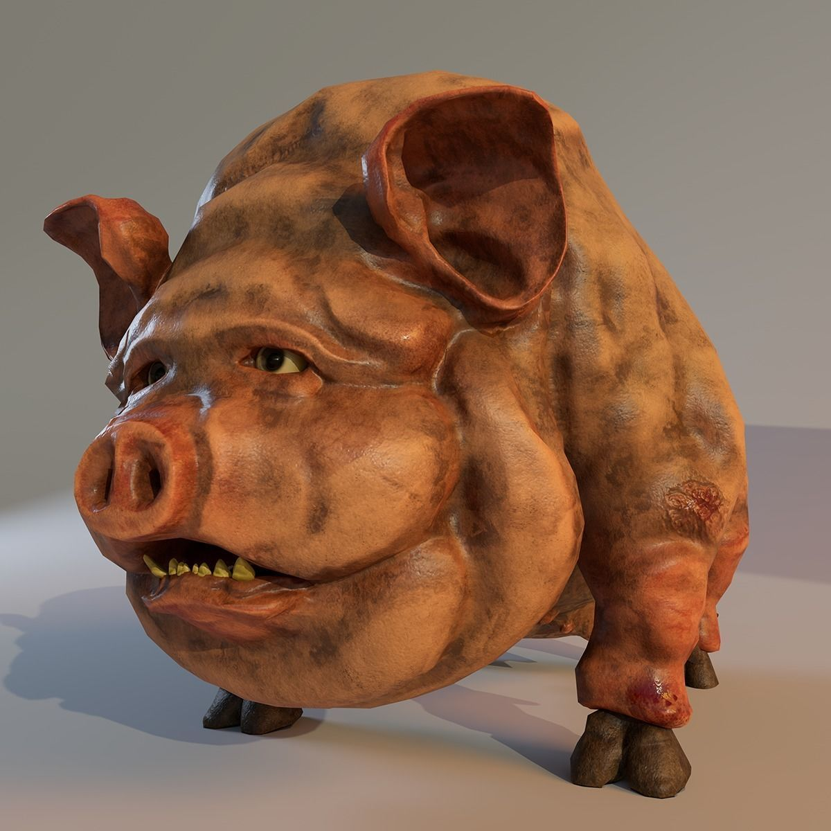 Scary Pig