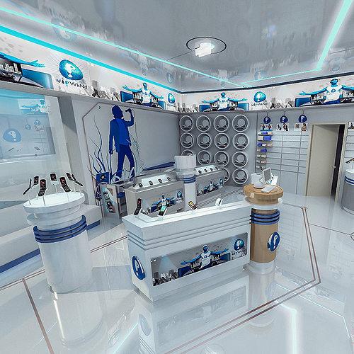 mobile phone shop interior 01 3d model max obj fbx mtl 1