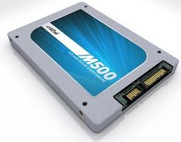 3D asset Crucial M500