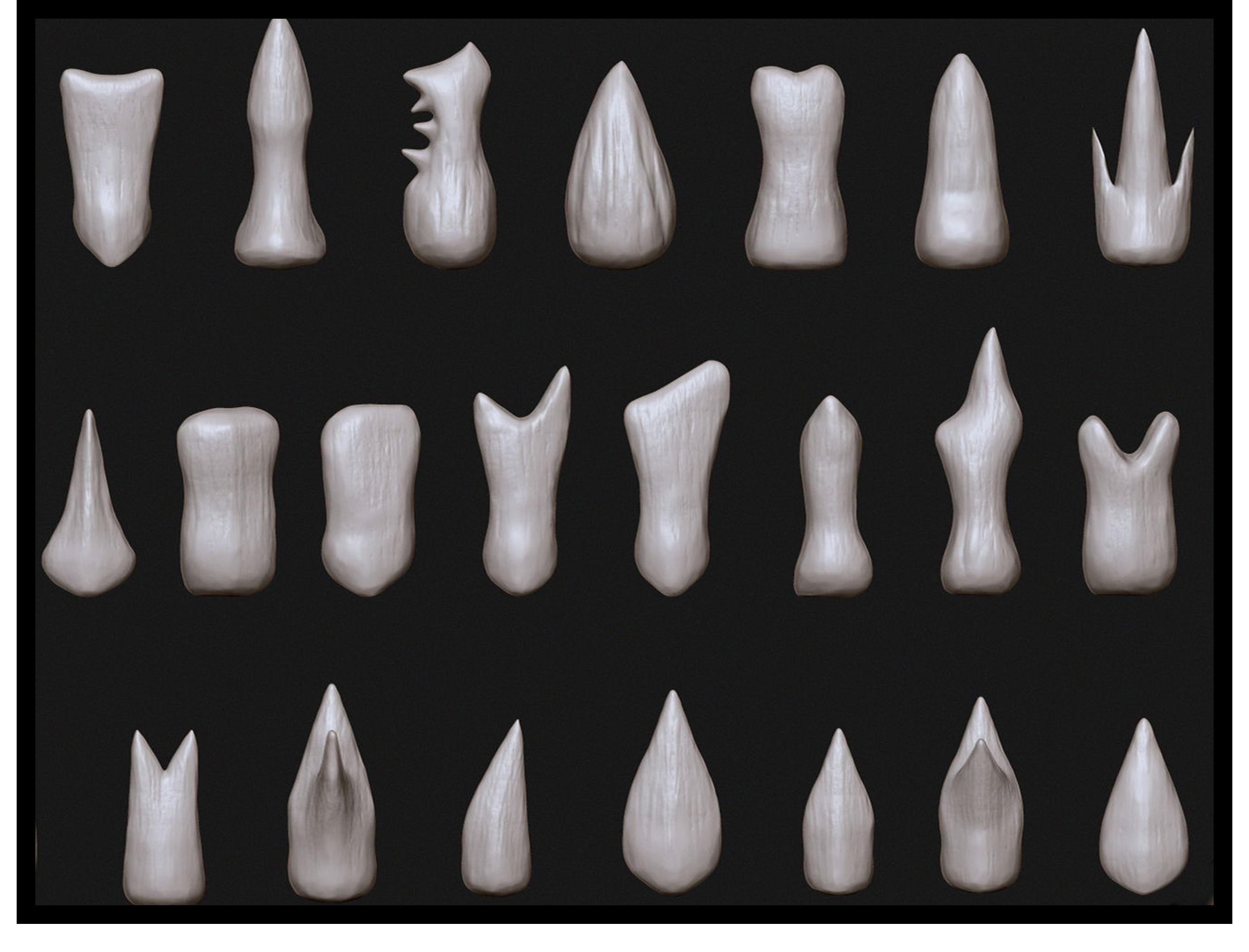 SFDEMIR Teeth IMM Brushes