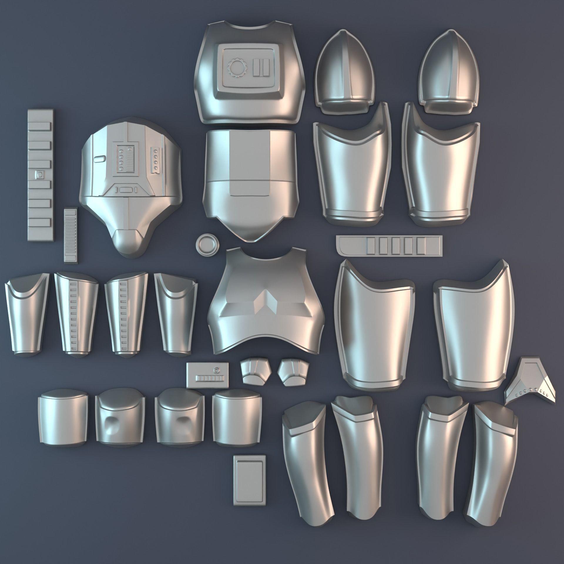 OT Stormtrooper armor vacuum form bucks