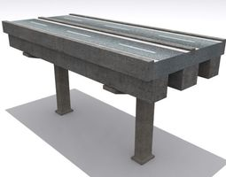 realtime road and highway set 3d model