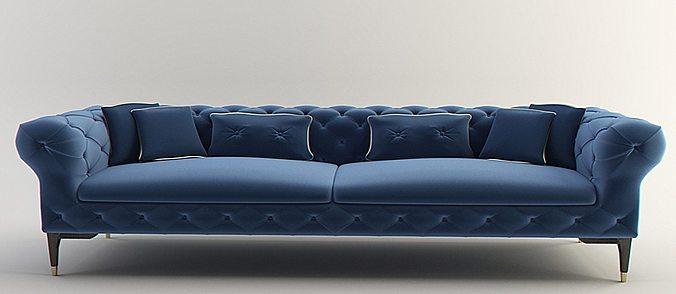 Elegant Models Of Contemporary Sofa 3D Sofa Interior Furniture Modern Design CGTrader