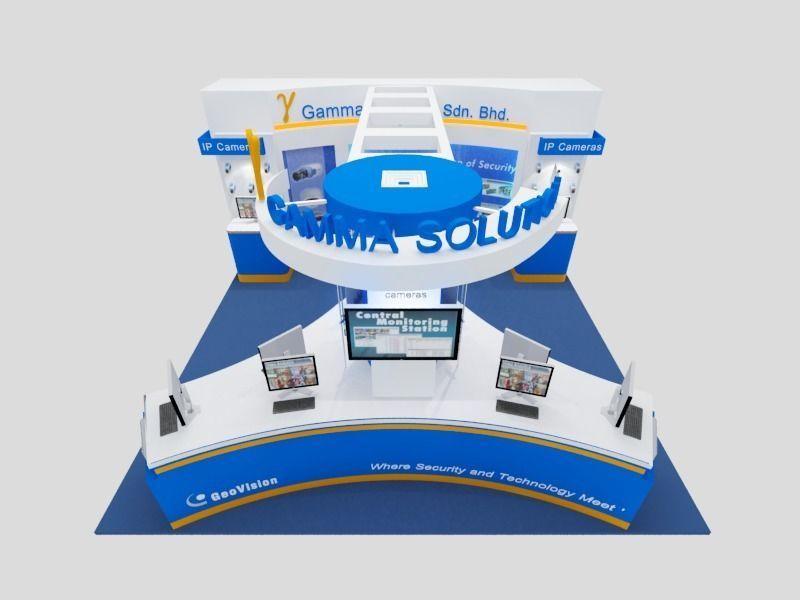 Geovision Exhibition 6x6 Booth
