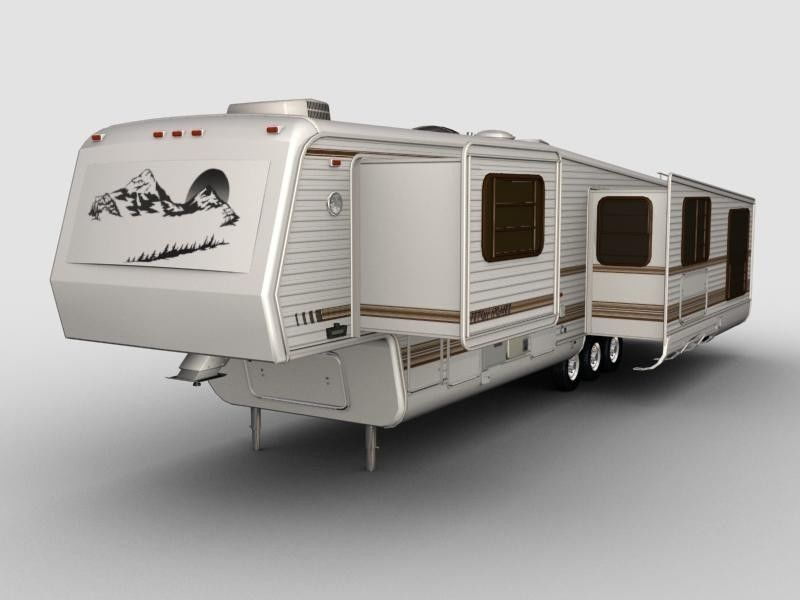 5th Wheel teton Trailer