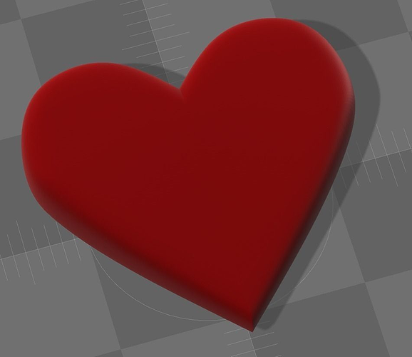emoji heart 3d model wrl wrz 1