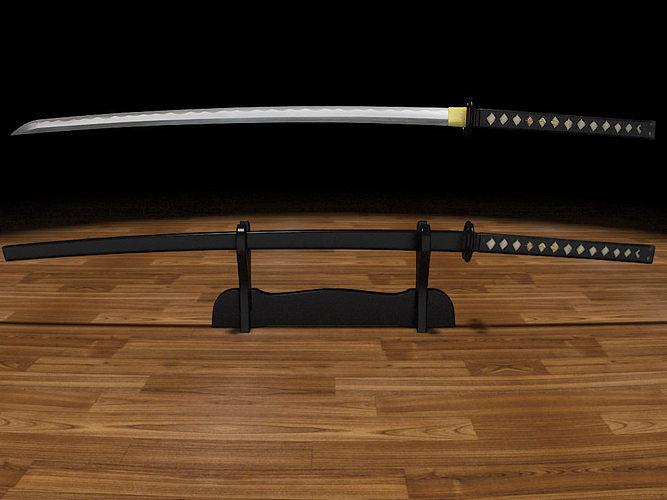 katana musashi 3d model stl 1