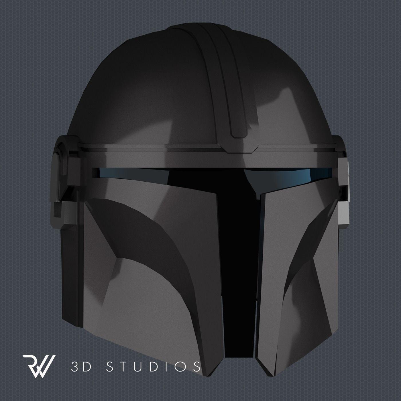 The Mandalorian Helmet - STL File