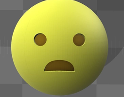 Emoji smiley 3D printable model