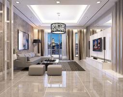 Living Room Condominium 3D model
