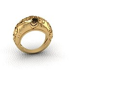 3D print model Ring jewel