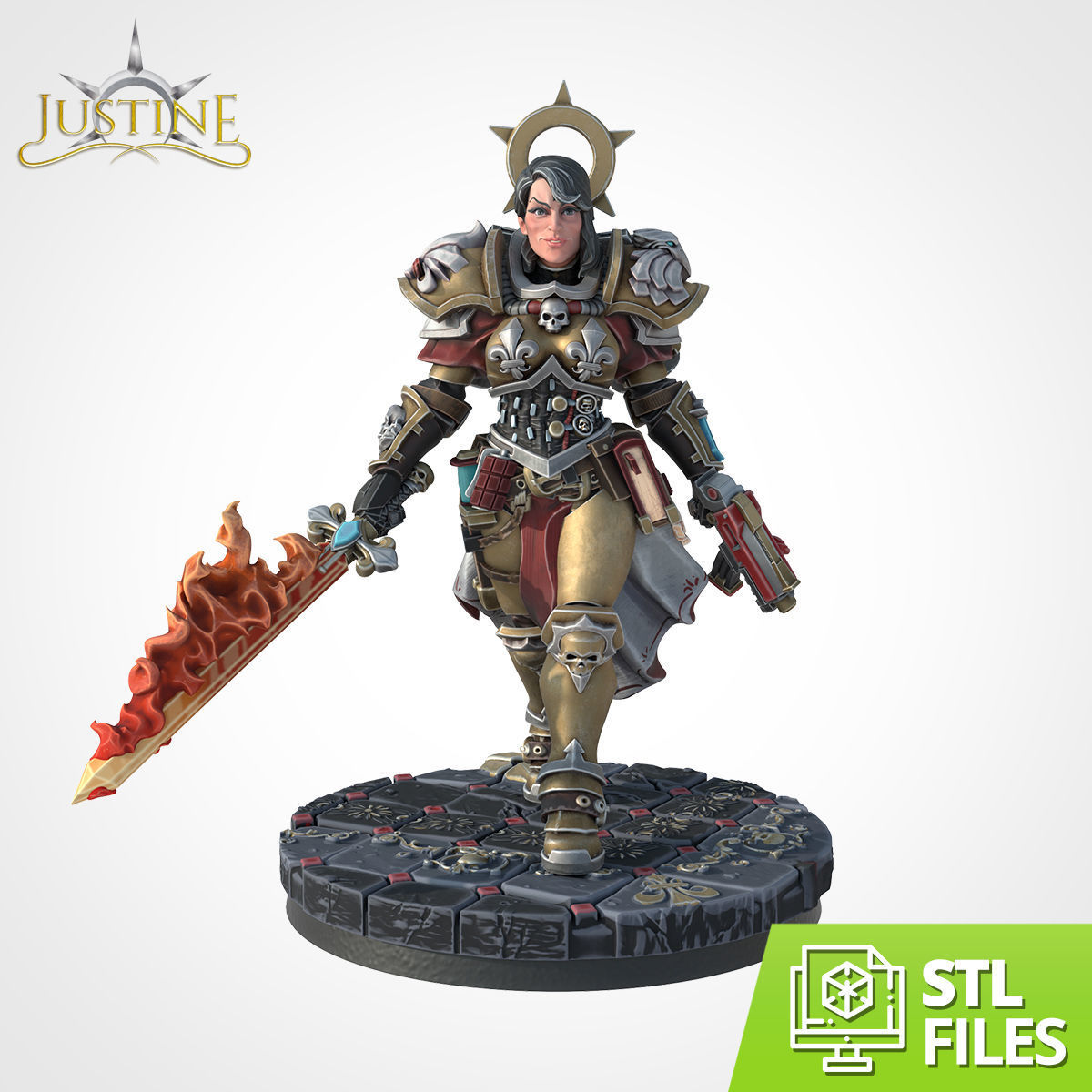 Justine Wargame Scale
