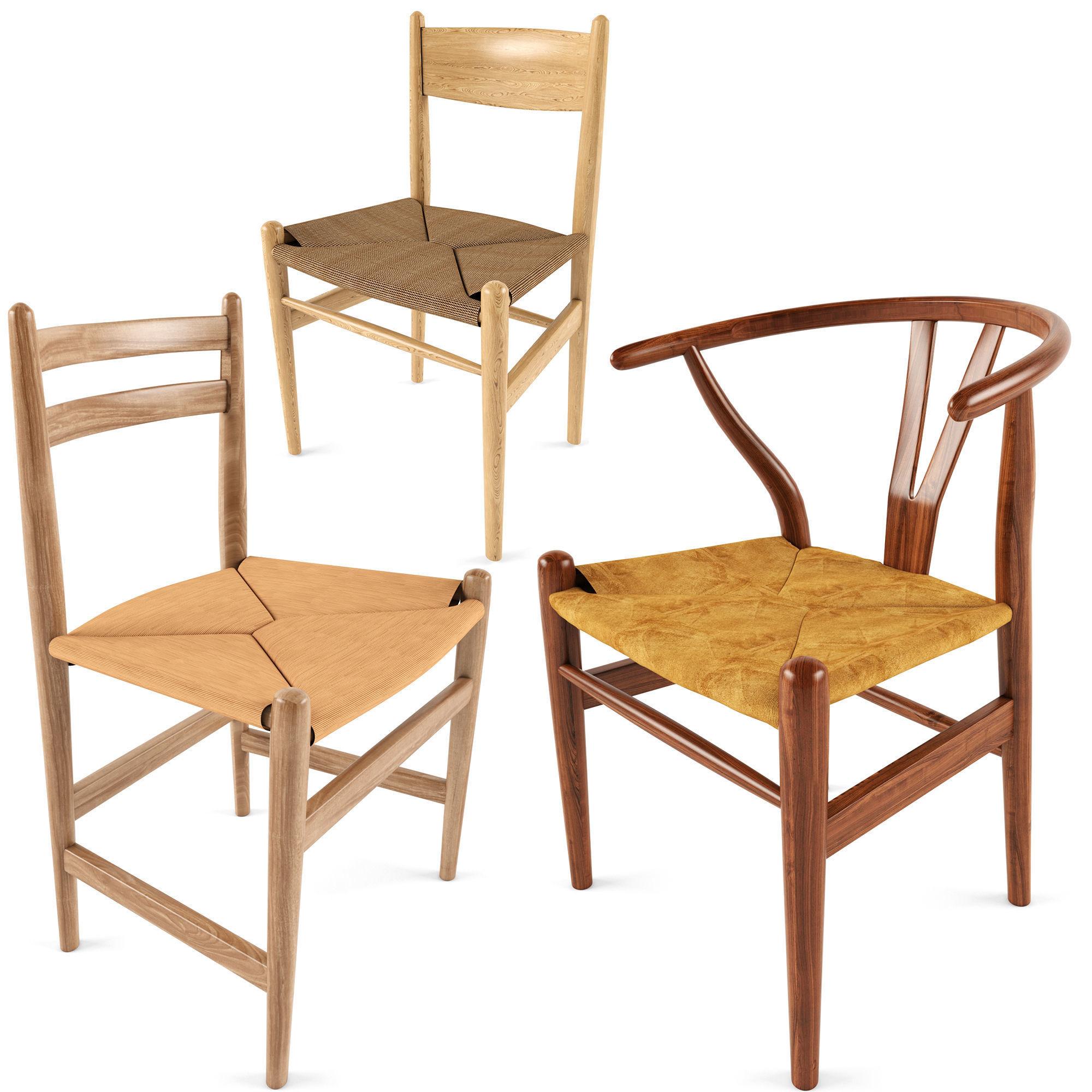 Chair CH24 CH36 CH47 AVE Carl Hansen Wishbone