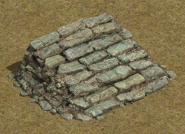 Field - stone steps 032