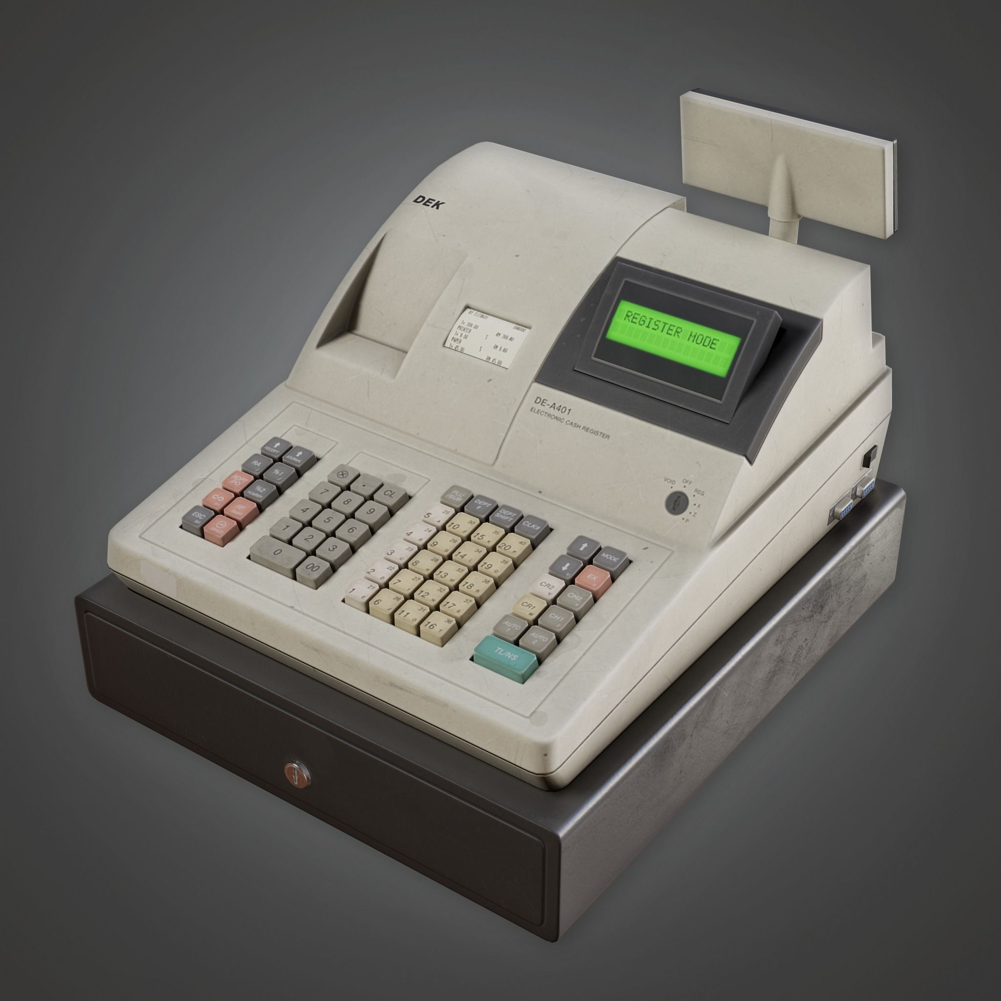 SAM - Commercial Checkout Machine- PBR Game Ready