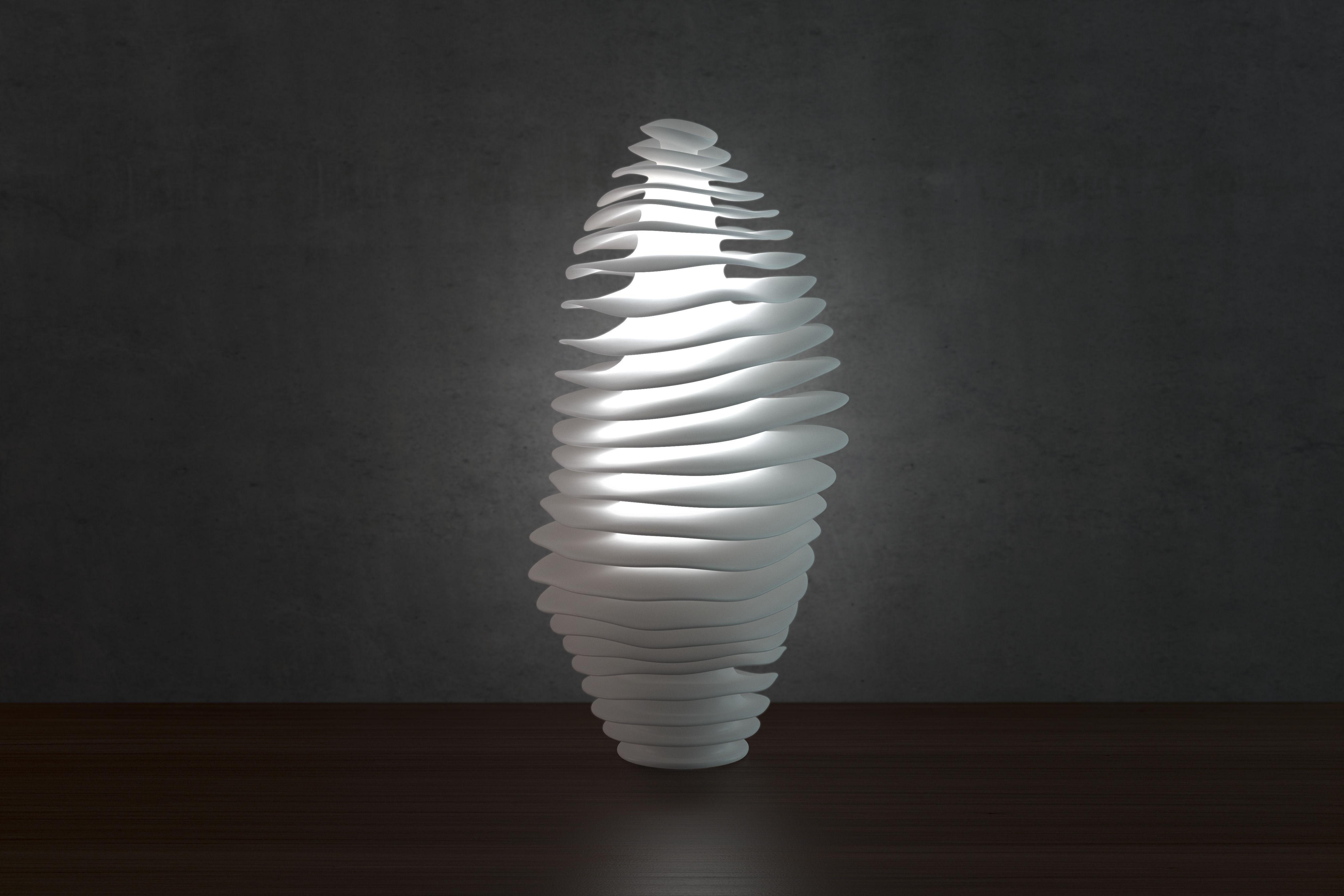 3D printable model Wave lamp 3 high quality version