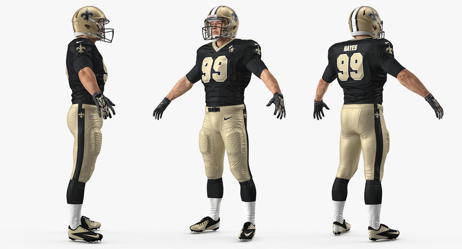 New Orleans Saints American Football Player
