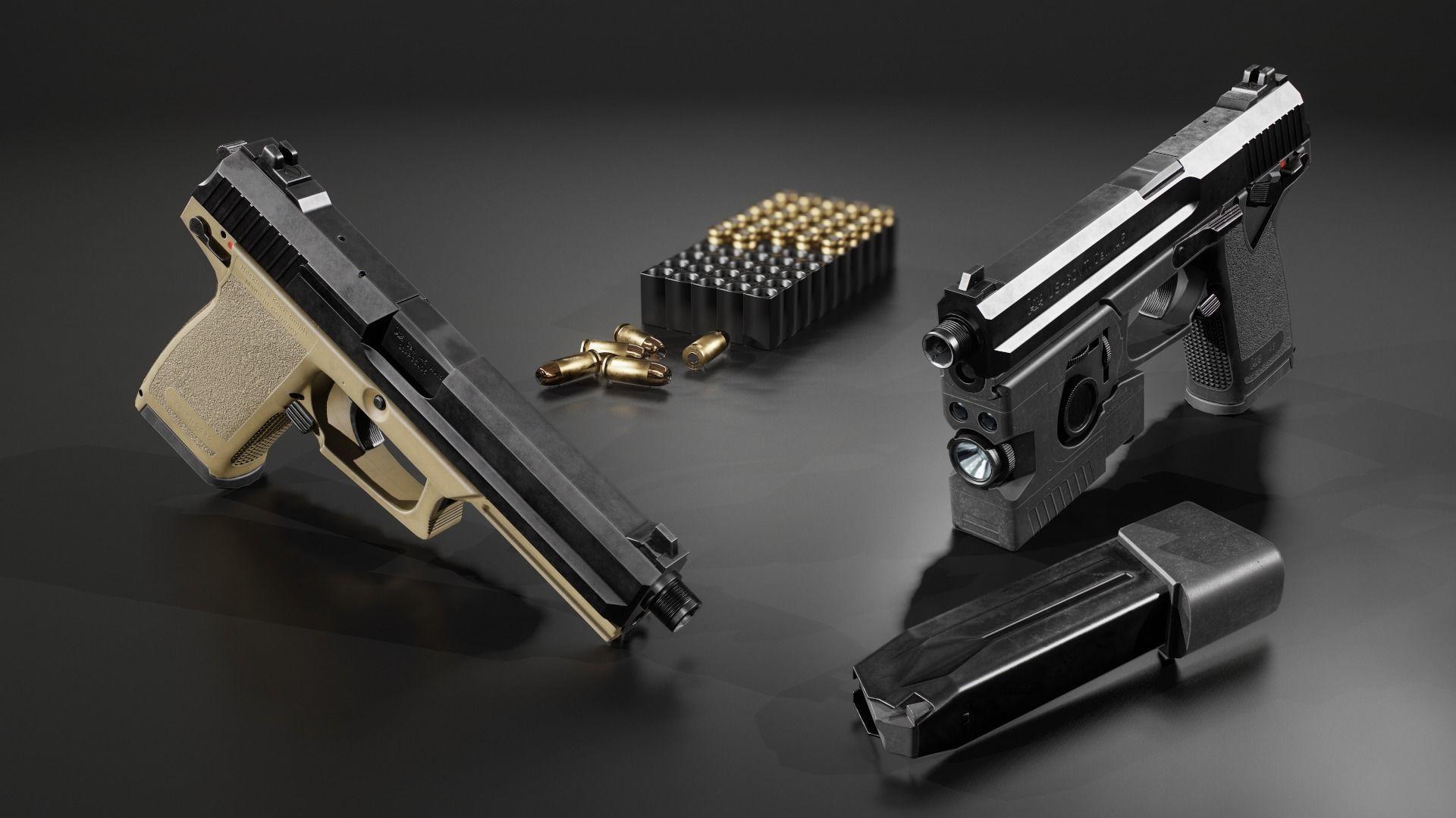 HK Mark 23 45acp SOCOM Handgun