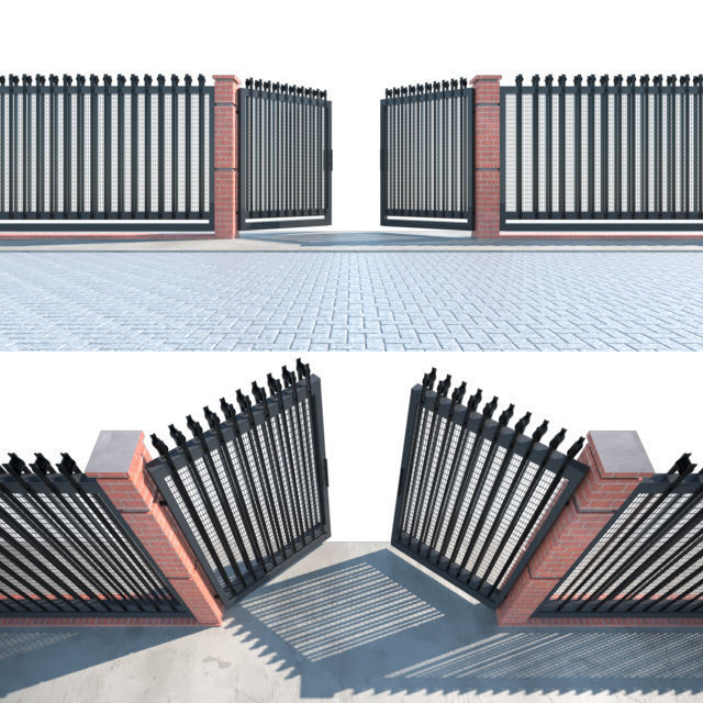 Entrance Gate fence