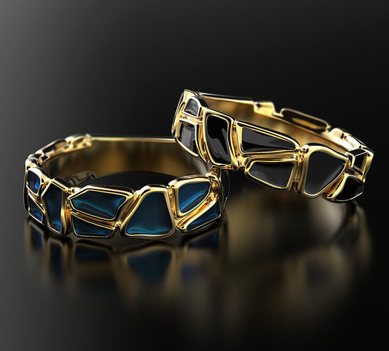 Geometry enamel ring